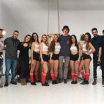 Shooting Con Las Cheerleaders Del Real Betis De Baloncesto