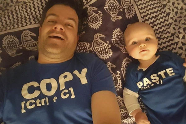 Padre e hijo camisetas